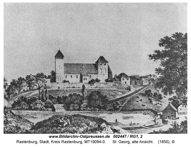Rastenburg, St. Georg, alte Ansicht