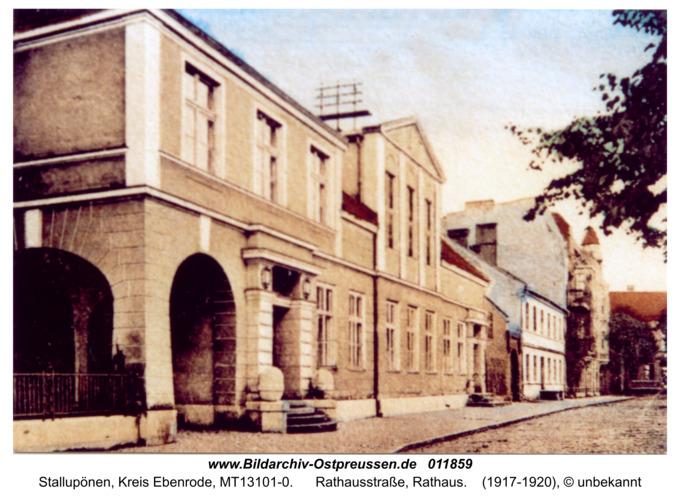 Ebenrode, Rathaus in der Rathausstraße