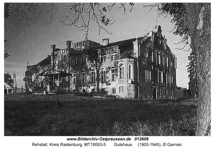 Rehstall, Gutshaus