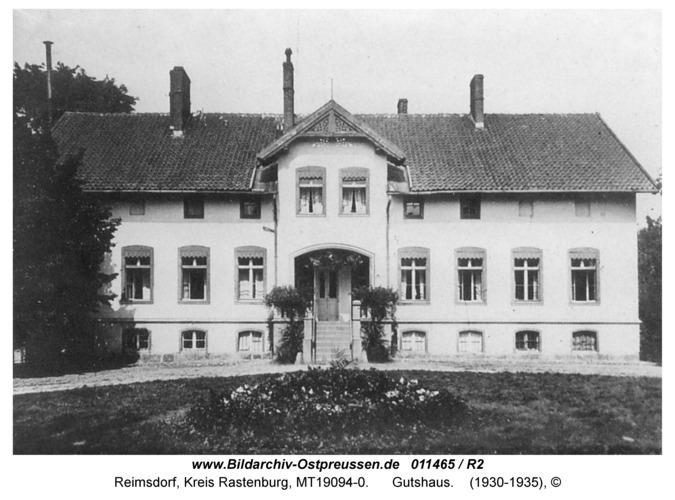 Reimsdorf, Gutshaus