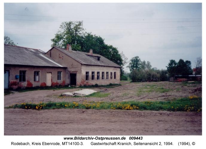 Rodebach, Gastwirtschaft Kranich, Seitenansicht 2, 1994