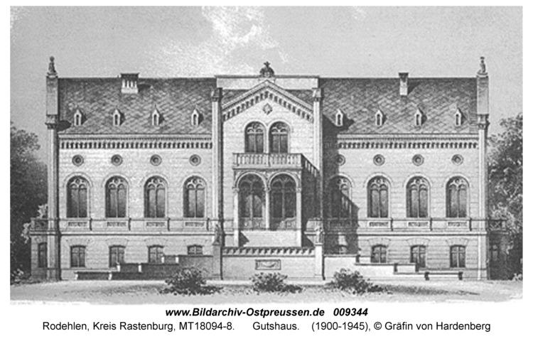 Rodehlen, Gutshaus