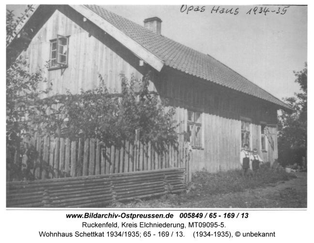 Ruckenfeld, Wohnhaus Schettkat 1934/1935; 65 - 169 / 13