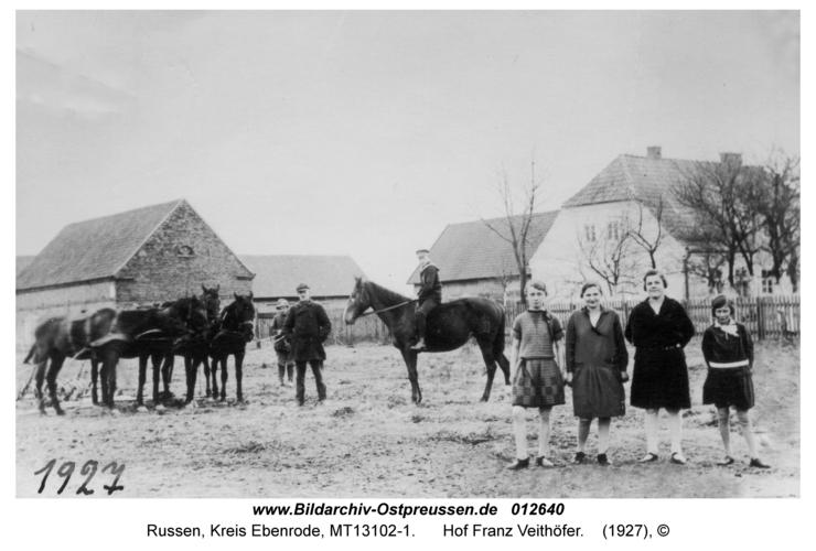 Russen, Hof Franz Veithöfer