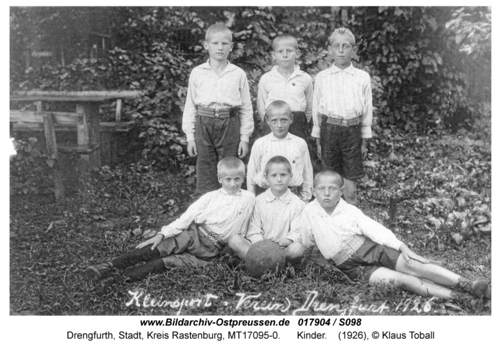 Drengfurt, Kinder