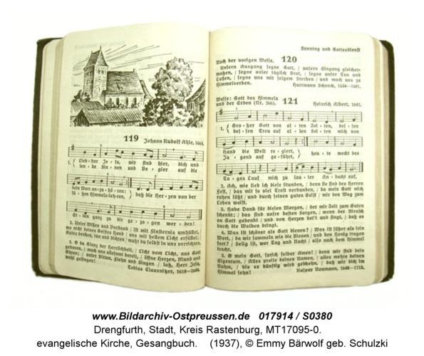 Drengfurt, evangelische Kirche, Gesangbuch