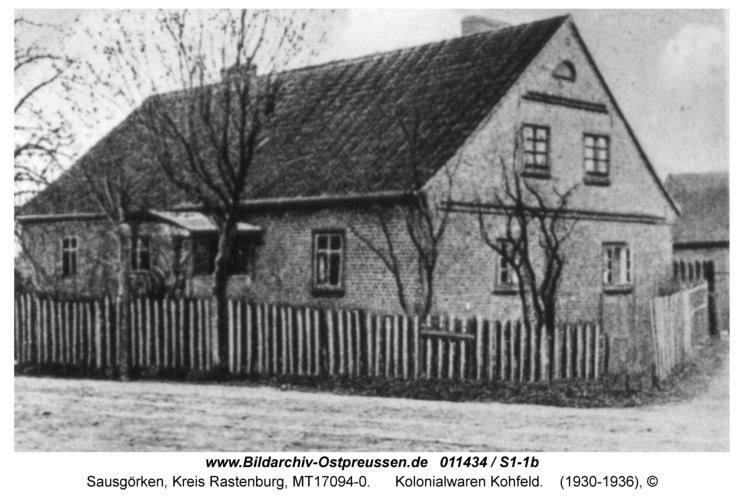 Sausgörken, Kolonialwaren Kohfeld