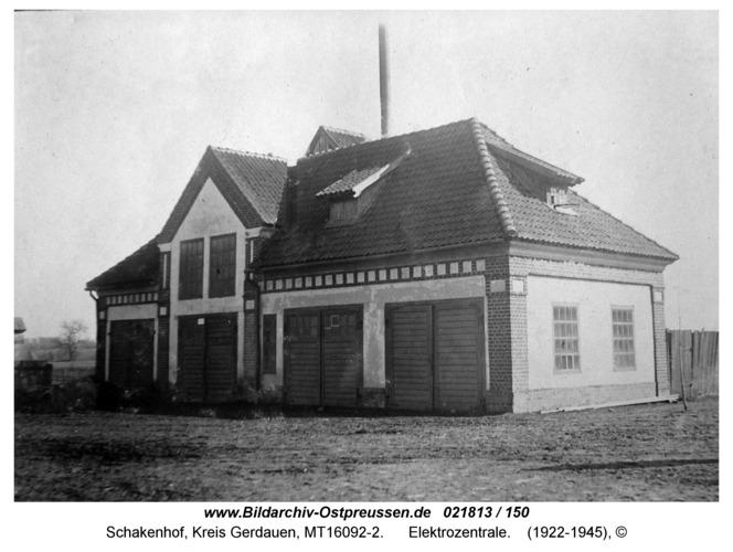 Schakenhof, Elektrozentrale
