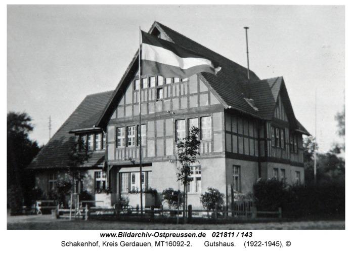 Schakenhof, Gutshaus