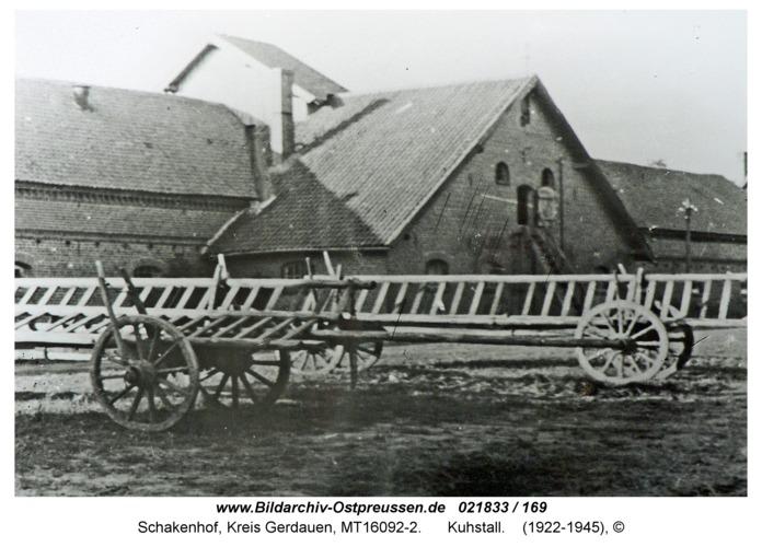 Schakenhof, Kuhstall