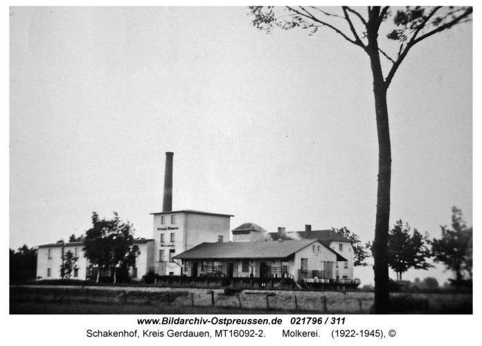 Schakenhof, Molkerei
