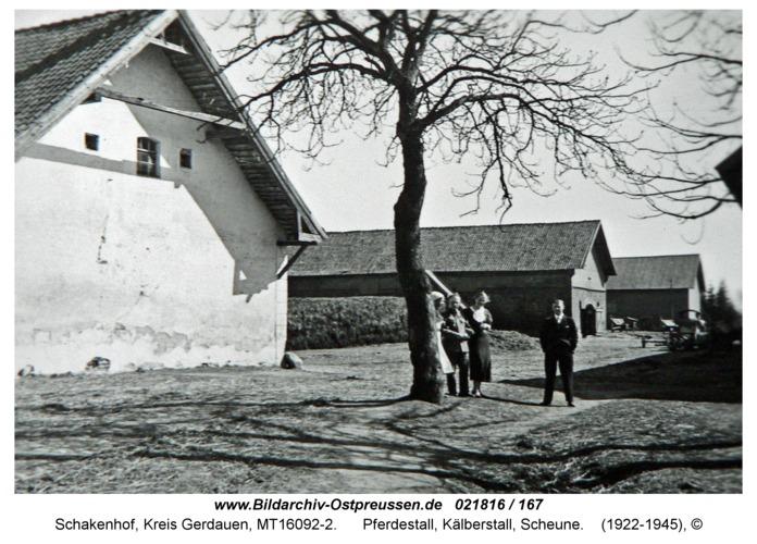 Schakenhof, Pferdestall, Kälberstall, Scheune