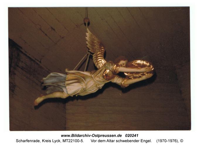 Scharfenrade, Vor dem Altar schwebender Engel