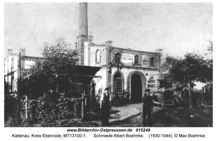 Kattenau, Schmiede Albert Boehnke