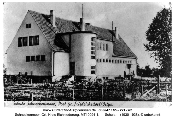 Schneckenmoor, Schule