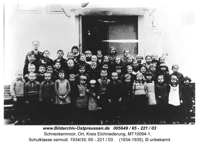 Schneckenmoor, Schulklasse vermutl. 1934/35; 65 - 221 / 03