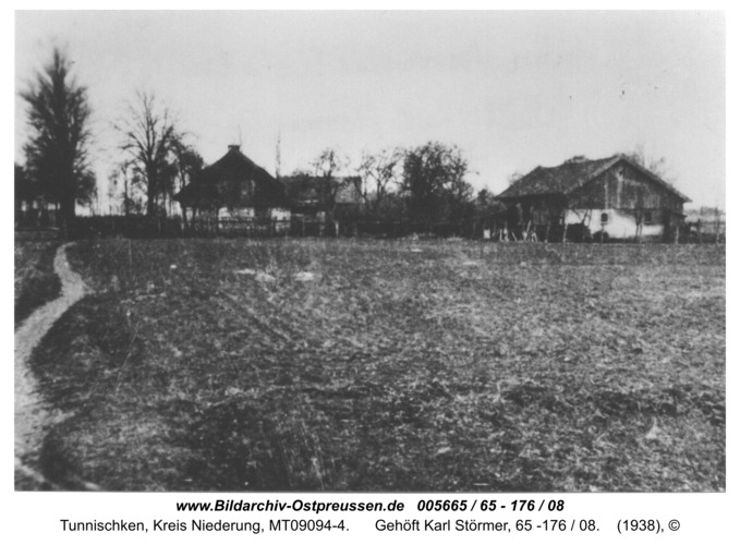 Schneckenwalde, Gehöft Karl Störmer, 65 -176 / 08