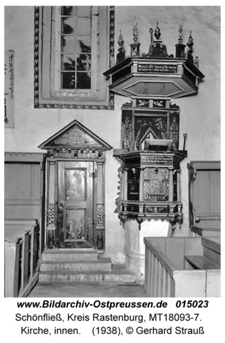 Schönfließ, Kirche, innen