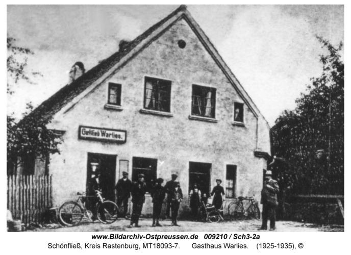 Schönfließ, Gasthaus Warlies