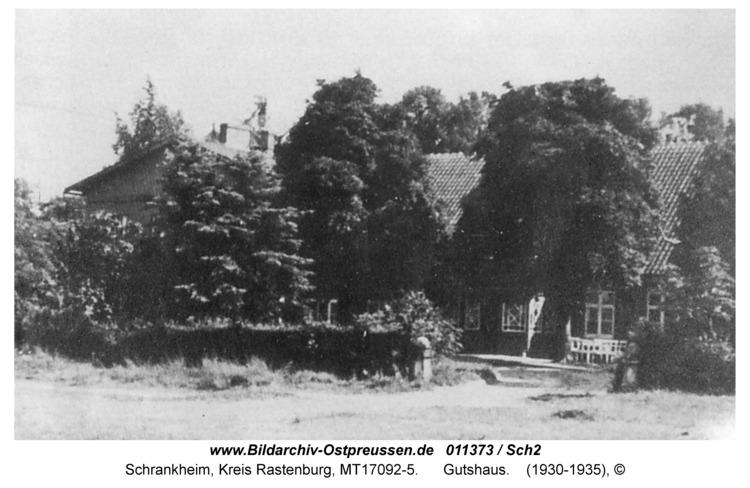Schrankheim, Gutshaus