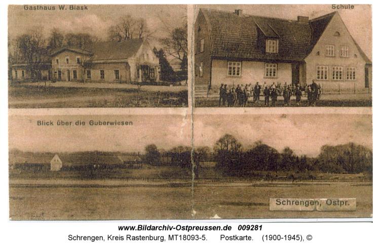 Schrengen, Postkarte