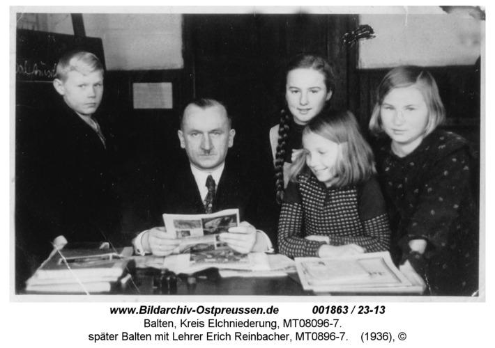 Schüler in der Schule Baltruscheiten K, später Balten mit Lehrer Erich Reinbacher, MT0896-7