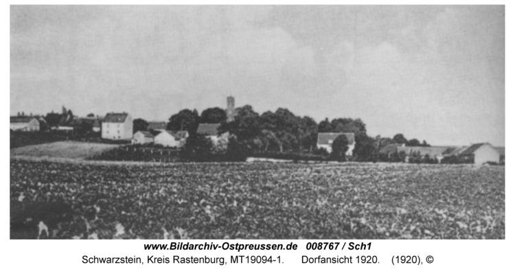 Schwarzstein, Dorfansicht 1920