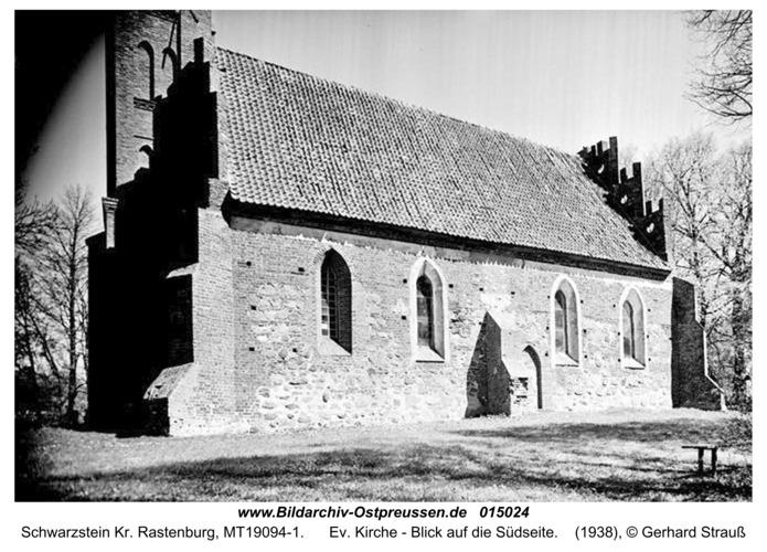 Schwarzstein, Ev. Kirche - Blick auf die Südseite
