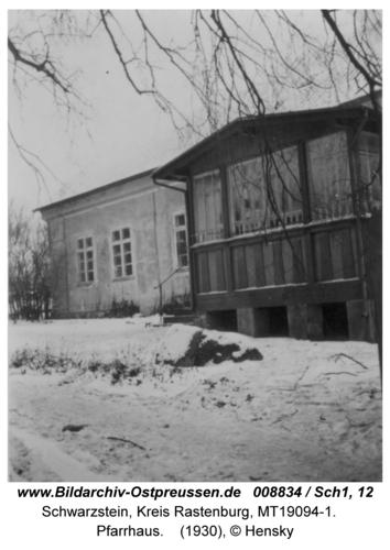 Schwarzstein, Pfarrhaus