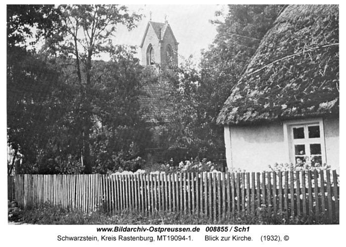 Schwarzstein, Blick zur Kirche