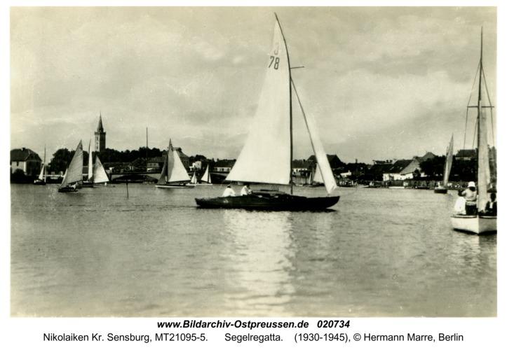 Nikolaiken Kr. Sensburg, Segelregatta