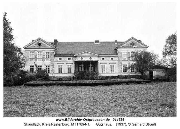 Skandlack, Gutshaus