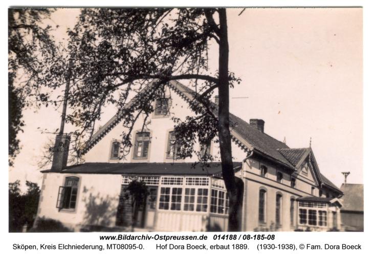 Sköpen 08-185-08, Hof Dora Boeck, erbaut 1889