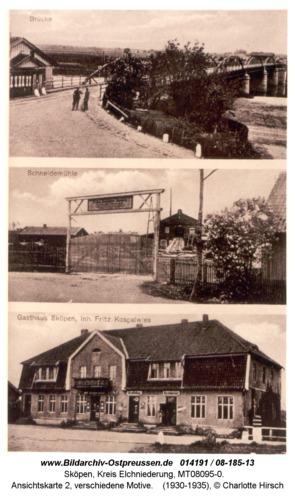 Sköpen 08-185-13, Ansichtskarte 2, verschiedene Motive