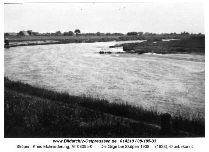 Sköpen 08-185-33, Die Gilge bei Sköpen 1938