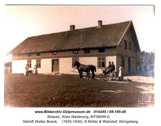 Sköpen, Gehöft Walter Boeck