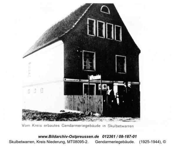 Skulbetwarren, Gendarmeriegebäude