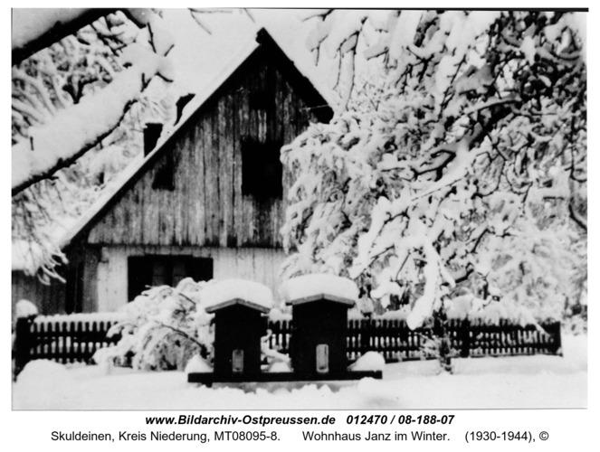 Skuldeinen, Wohnhaus Janz im Winter