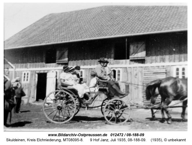 Skuldeinen, 9 Hof Janz, Juli 1935, 08-188-09