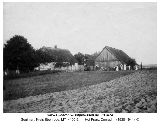 Soginten, Hof Franz Conrad