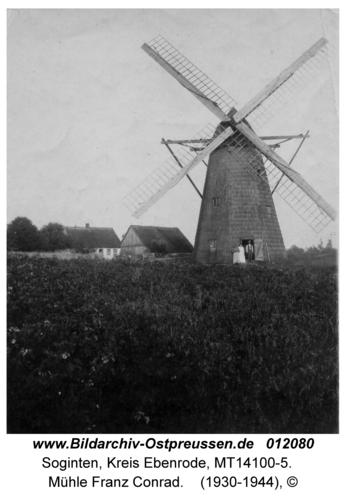 Soginten, Mühle Franz Conrad