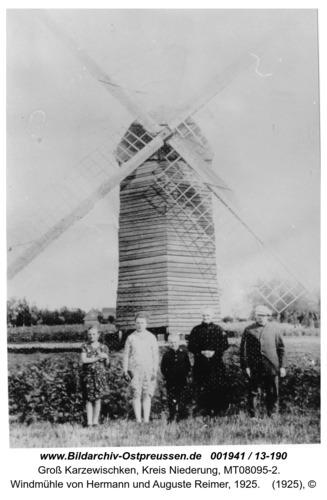 Sprosserweide, Windmühle von Hermann und Auguste Reimer, 1925