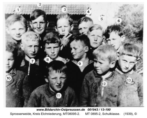 Sprosserweide, MT 0895-2, Schulklasse