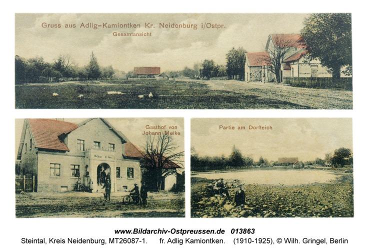 Steintal Kr. Neidenburg, fr. Adlig Kamiontken