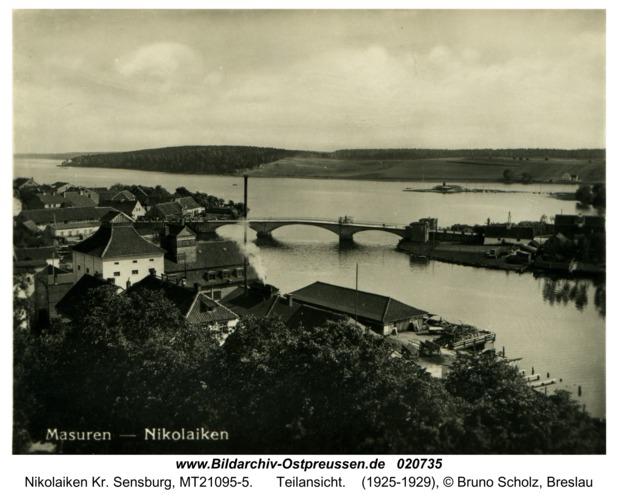 Nikolaiken Kr. Sensburg, Teilansicht