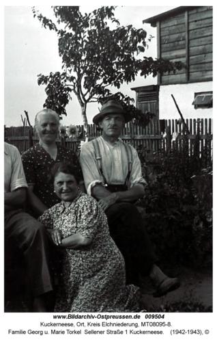 Familie Georg u. Marie Torkel Sellener Straße 1 Kuckerneese