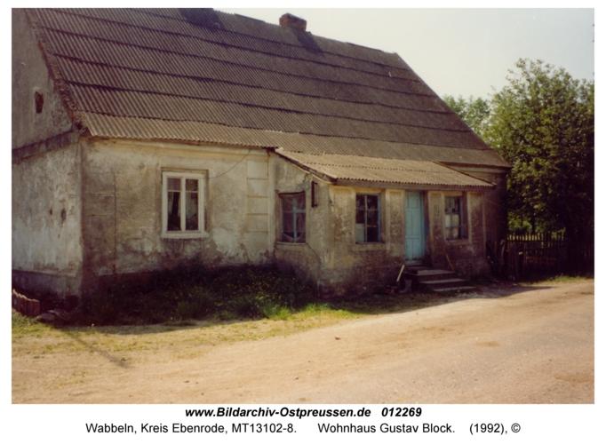 Wabbeln, Wohnhaus Gustav Block