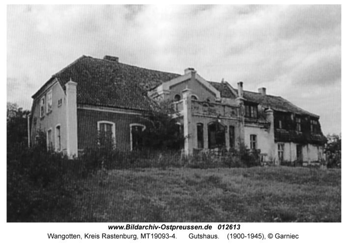 Wangotten, Gutshaus