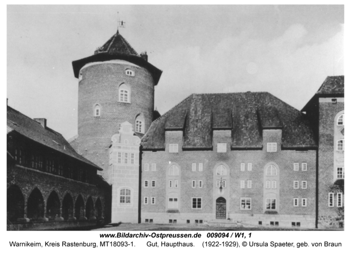 Warnikeim, Gut, Haupthaus