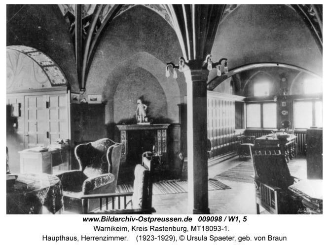 Warnikeim, Haupthaus, Herrenzimmer